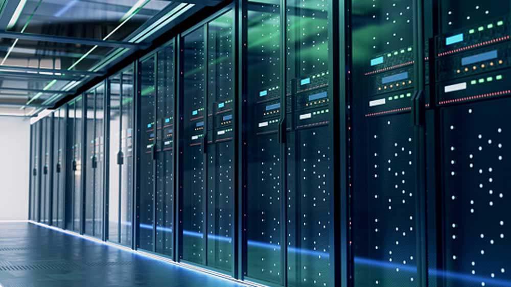 Inside look of a datacenter